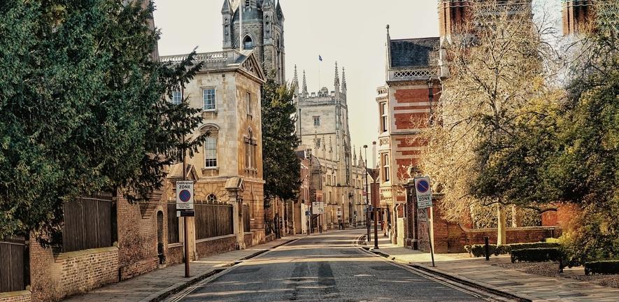 Cambridge city street