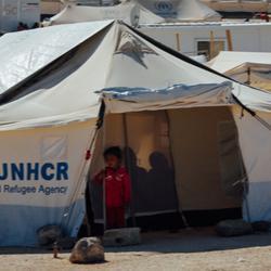 refugee shelter space 3.5m2