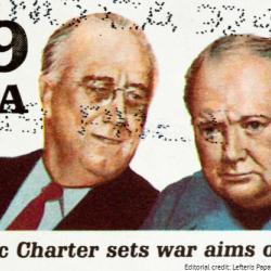 Altantic Charter stamp