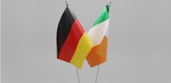 German Irish Flags