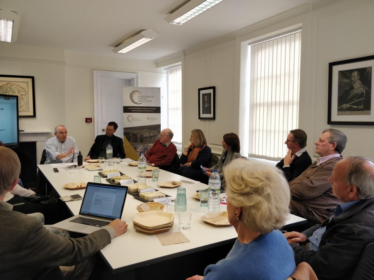 Hubertus Jahn Lunchtime Talk