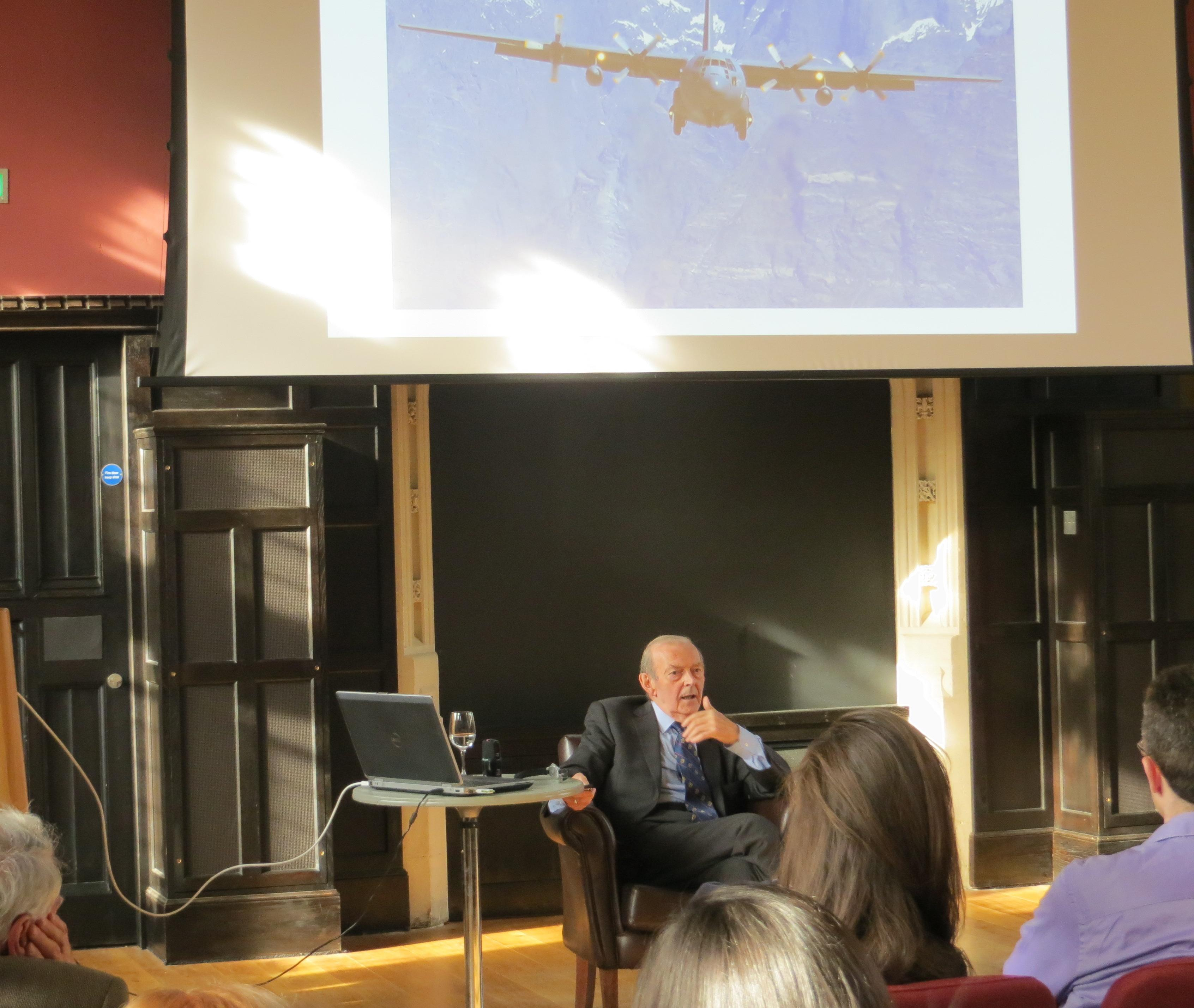 """Paul Kennedy 'Nightmare Series' lecture at St John's College - """"The Day 1.5 Billion People Lost Their Water"""""""
