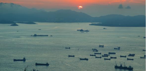 South China Sea historic map